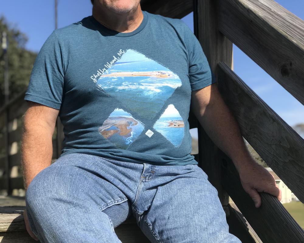Shelly Island Diamond T-Shirt Front