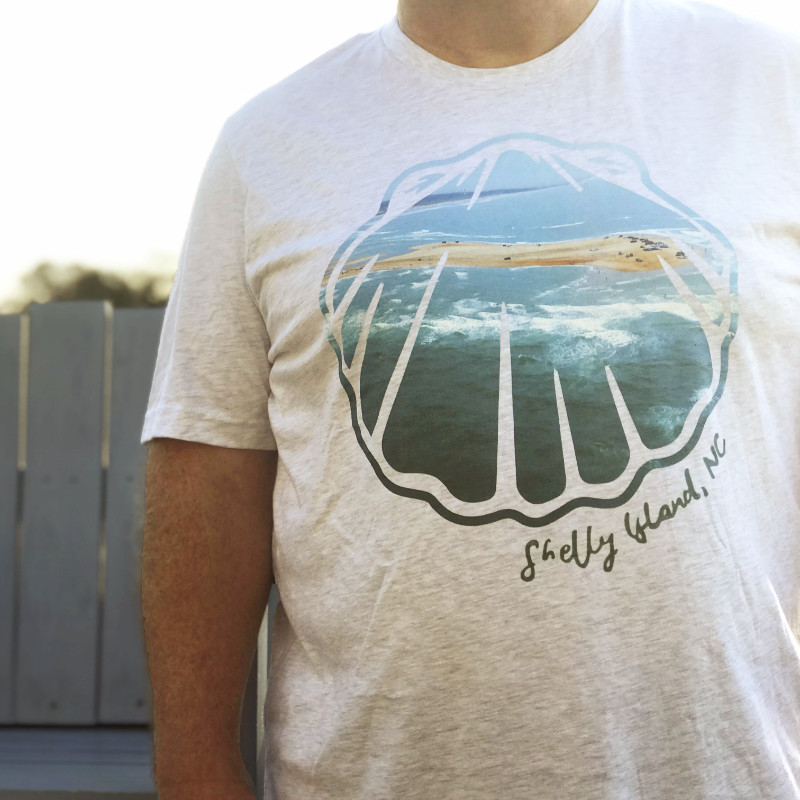Shelly Island Scallop T-Shirt Front