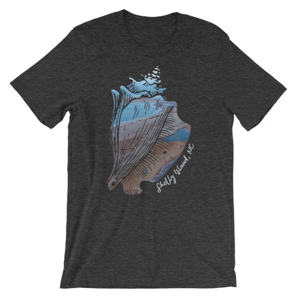 Shelly Island Conch T-Shirt Front